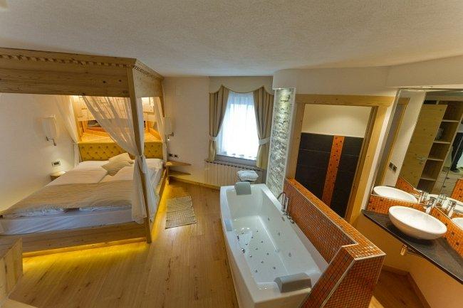 Suite con idromassaggio - Hotel con piscina montagna ...